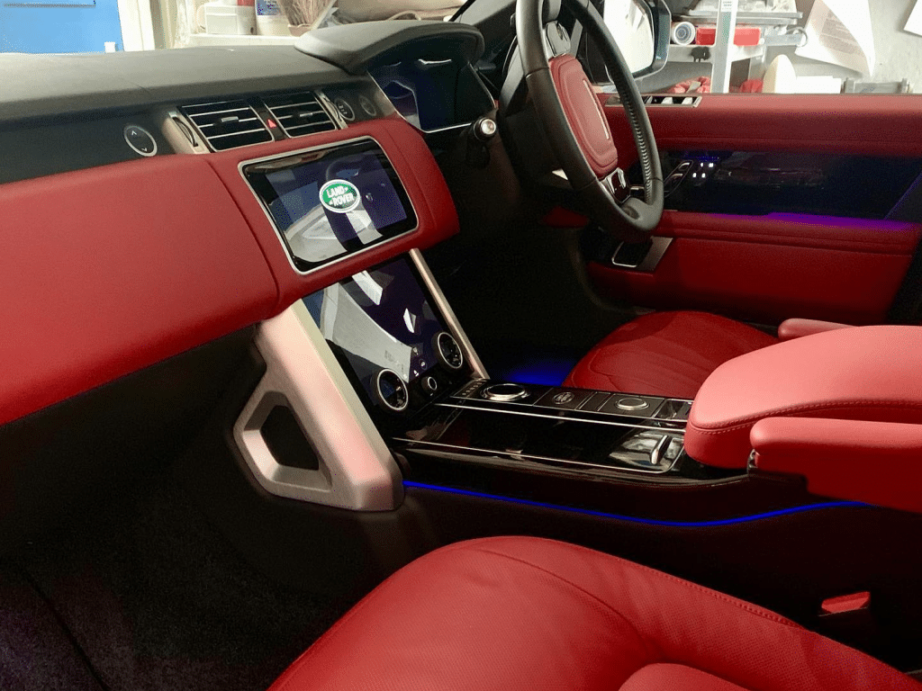 Range Rover Interior at Wax N Vax